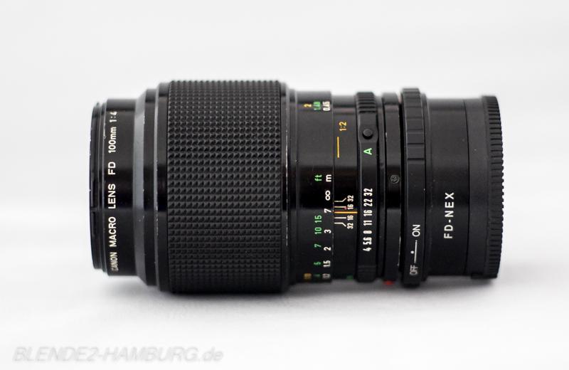 Canon FD 100mm, f4,0, Makro