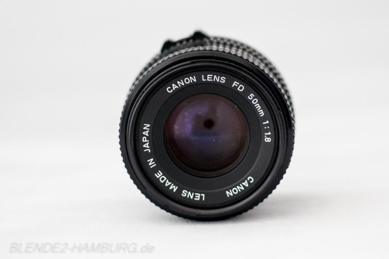 Canon FD 50 mm, f1,8
