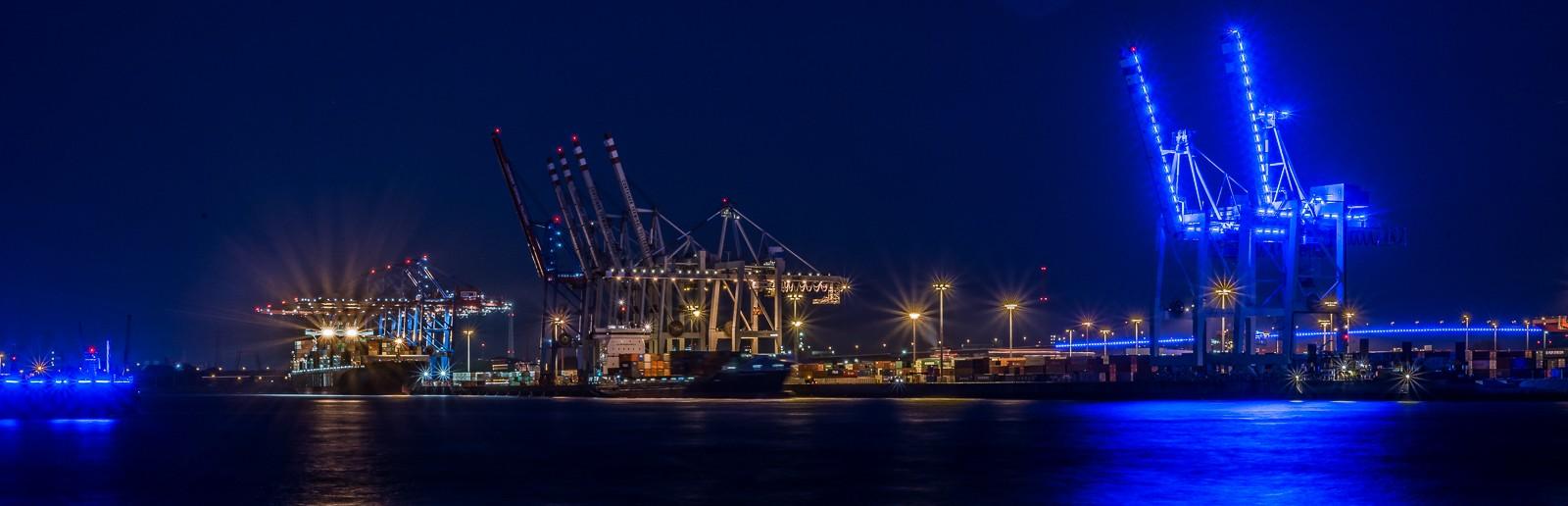 Der blaue Hafen….